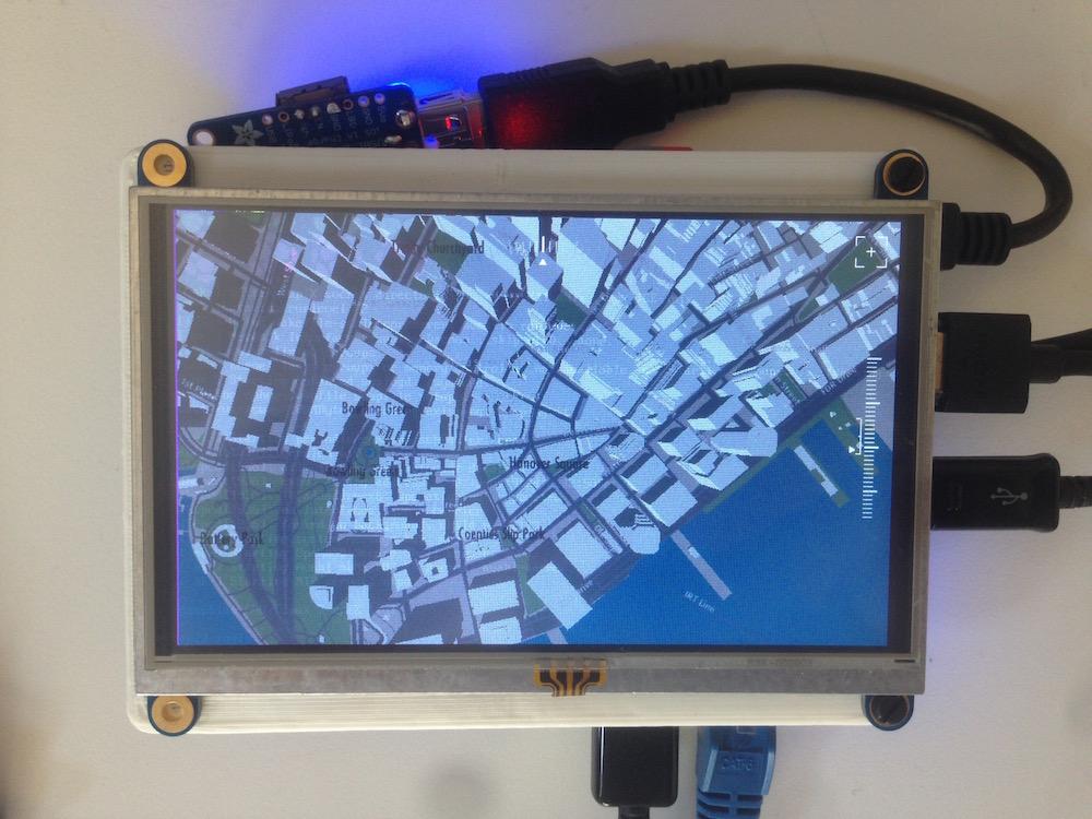 Delicious 3D Maps Baked into a RaspberryPi · Mapzen