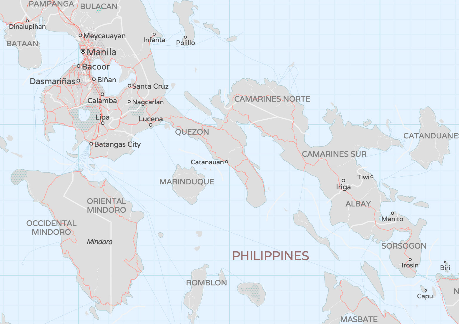 Bubble Wrap Philippine Province Labels