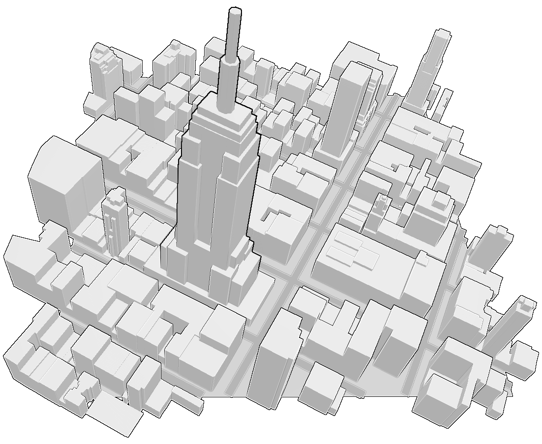 Getting Crafty With OSM Buildings · Mapzen