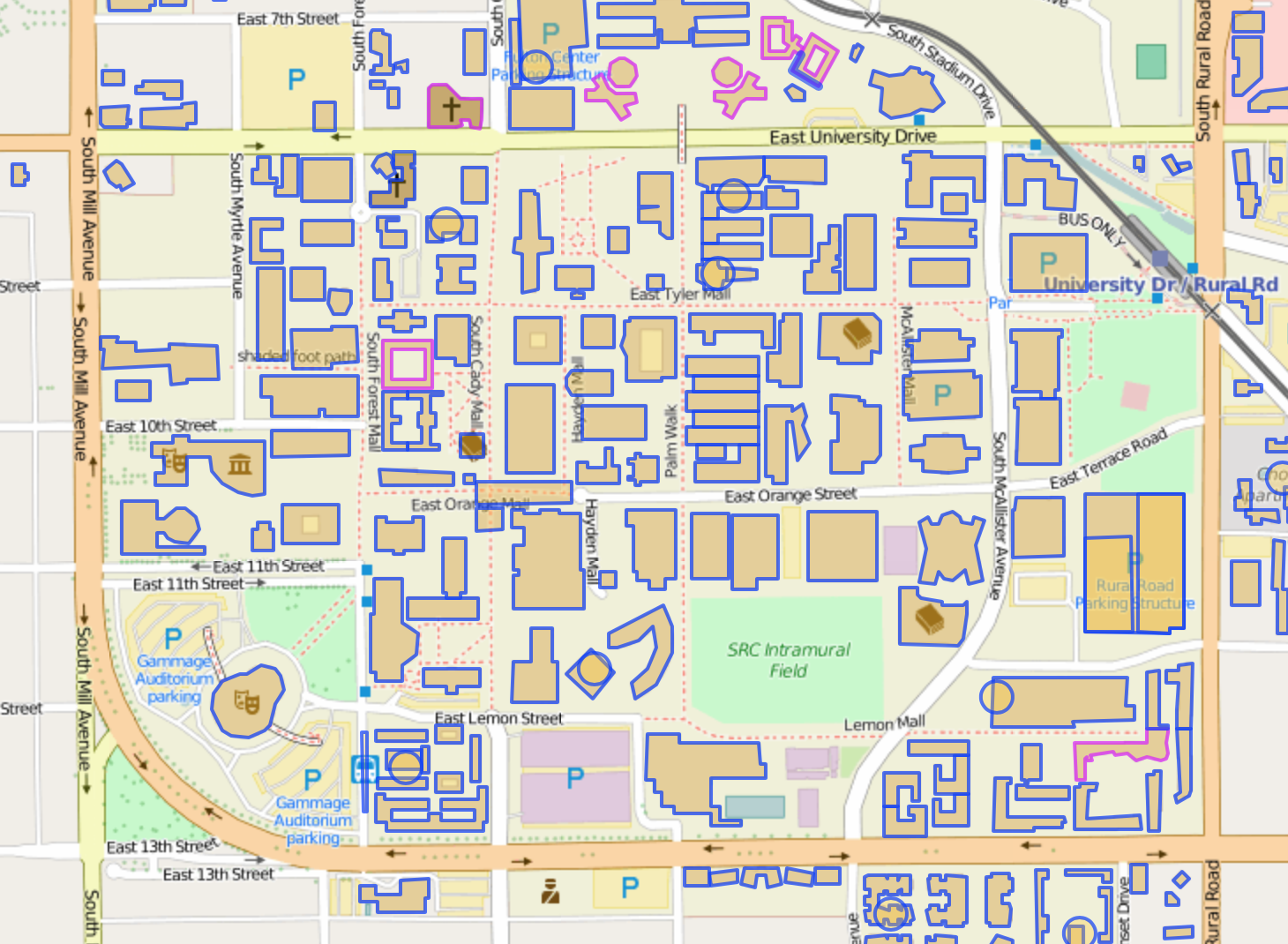 Campus Map Asu.Targeted Editing Campus Mapping Mapzen