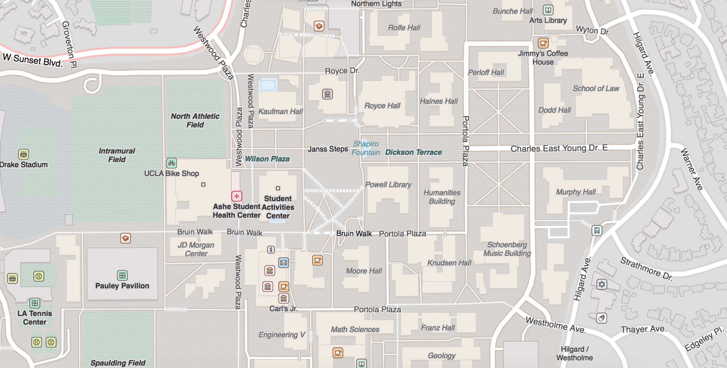 Moravian Campus Map.Targeted Editing Mapzen